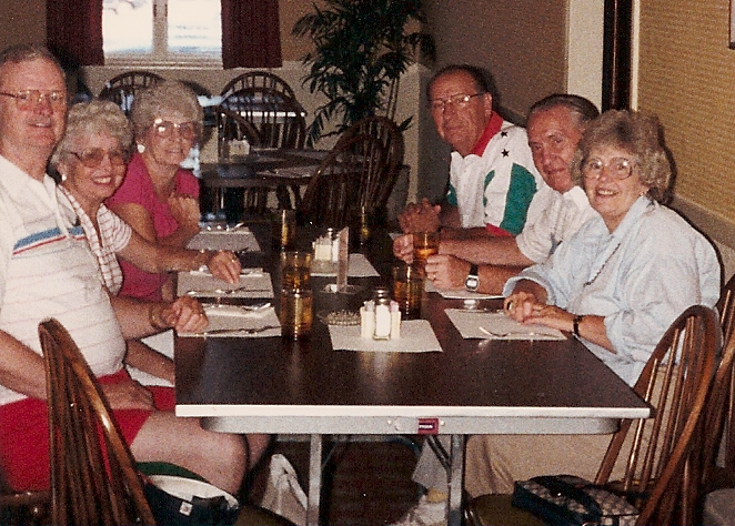 1988 Fish Dinner on Cape Cod